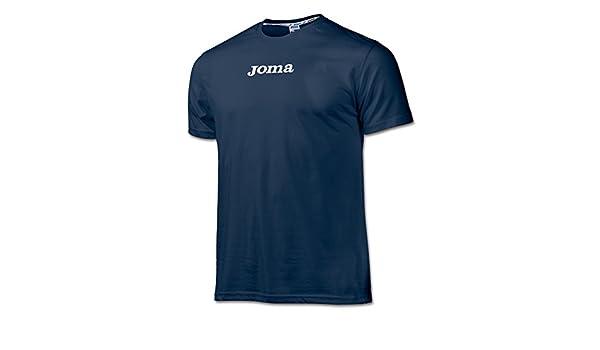 Joma - Camiseta Algodon Basic Marino m/c Pack 10 para Hombre ...