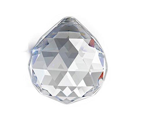 Set of 40 - 40 mm Clear Asfour 30% Lead Crystal Ball Prism Crystal Chandelier Parts Wholesale Art# 701-40- 1 - Wholesale Suncatchers