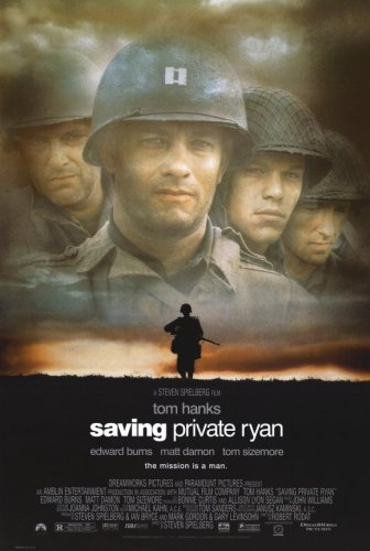 Pop Culture Graphics Saving Private Ryan  - 11 x 17 - Style