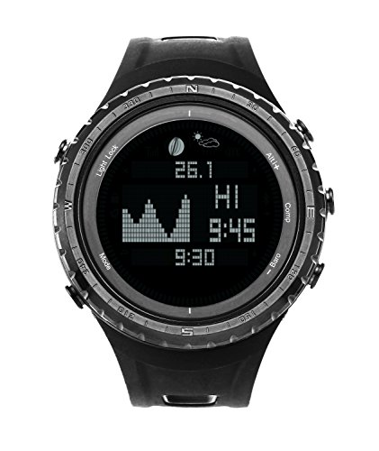 Smart Digital Sport Fishing Watch with Tide, Barometer, Altimeter, Compass, Thermometer, and Much More(Sunroad Model (Fishing Moon Phase Watch)