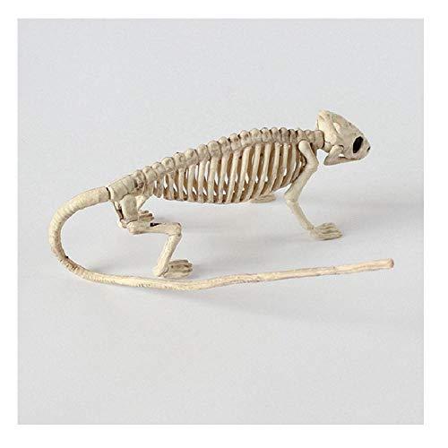 Halloween Decor 100% Plastic Animal Skeleton Bones Horror Christmas Prop Crow 3 OneSize
