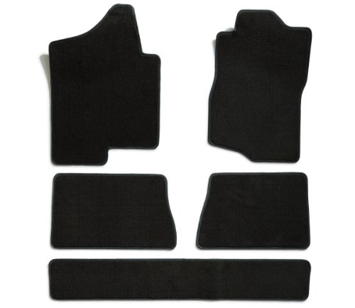 Premier Custom Fit 5-piece Set Carpet Floor Mats for Ford Explorer (Premium Nylon, Black) ()