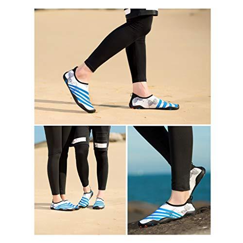 Et D'eau Femmes Séchage Pour Plongée De Blanc Rapide Fond Couleurs Yoga Chaussures Hommes À 3 Mou Ailjsx vxnfqf