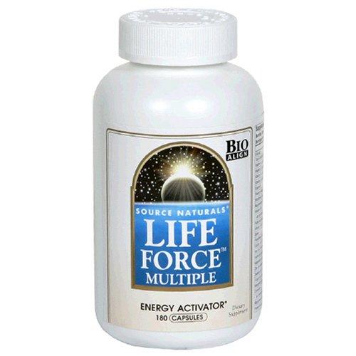 Source Naturals multiples Force de Vie, 180 Capsules