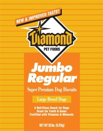 Diamond Golden Dog Biscuits, Jumbo, 20-Pound Bag, My Pet Supplies