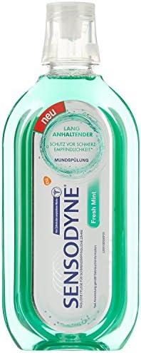 Sensodyne Fresh Mint Mundspülung, tägliche Mundspülung mit Fluorid, 1x500ML, für schmerzempfindliche Zähne
