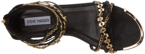 Dress Black Sandal Women's Lawful Multi Madden Steve nTtwqX60n