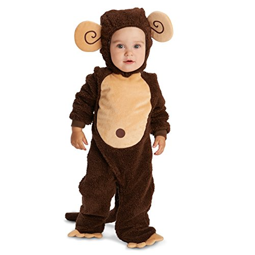 Monkey Baby Costumes Halloween (Dream Weavers Costumers Loveable Monkey Infant Dress Up Costume 18-24M)