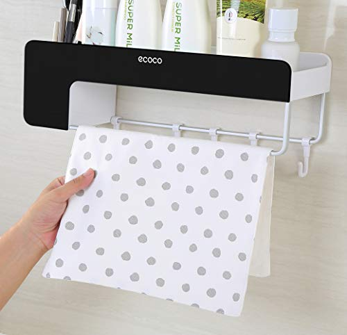 Adhesive Bathroom Shelf Storage Organizer Wall Mount No Drilling Shower Shelf Kitchen Storage Basket Rack Shelves Shower Caddy
