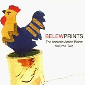 Belweprints Acoustic Adrian Belew Volume Two CD NEW Adrian Belew