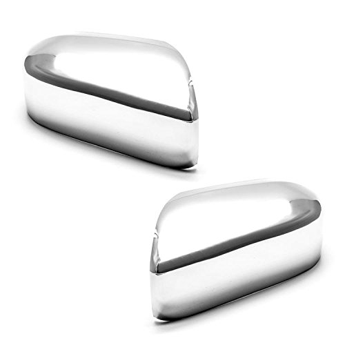 erushautoparts Ultra Chrome Door Mirror Cover For 2003-2007 Honda Accord Sedan/Coupe