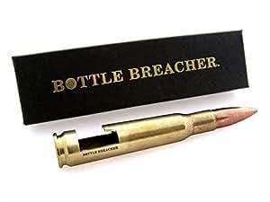 50 caliber bmg bottle breacher authentic vintage brass bottle opener with gift box. Black Bedroom Furniture Sets. Home Design Ideas
