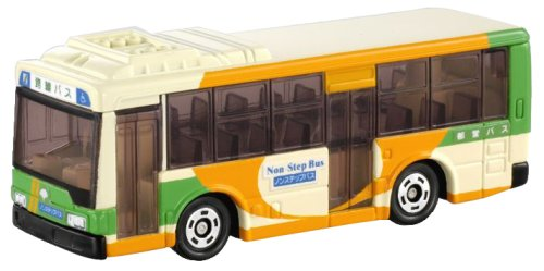1/141 三菱ふそう エアロスター 路線バス(クリーム×グリーン×オレンジ) 「トミカ No.30」