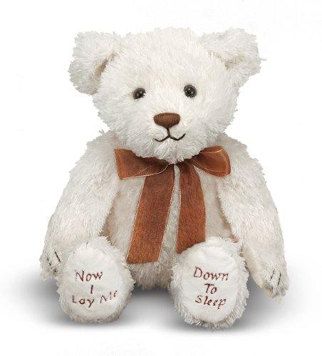 Praying Teddy Bear (Melissa & Doug Bedtime Prayer Bear - Stuffed Animal With Sound Effects)