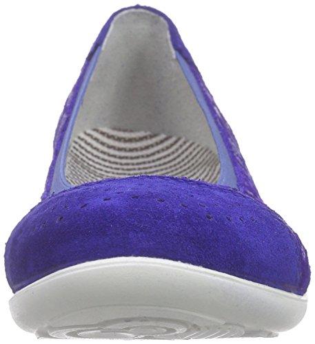 Ricosta Mädchen Melli Geschlossene Ballerinas Blau (electric 144)