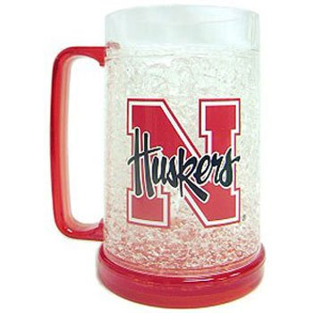 NCAA Nebraska Cornhuskers 16-Ounce Crystal Freezer - In Stores Carolina Place Mall