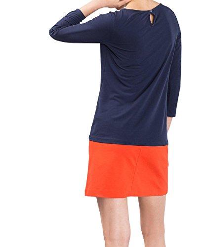ESPRIT Collection, Camisa para Mujer Azul (NAVY 400)