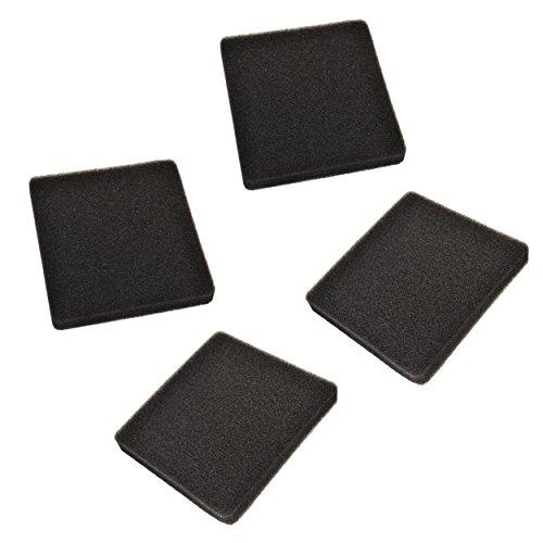 HQRP 4-Pack Replacement 30 ppi Foam Pads Works with Rena Filstar xP XP-1 XP-2 XP-3 XP-4 XPS XPM XPL XPXL Aquarium Canister Filter Plus Coaster (Filstar Xp2 Filter)
