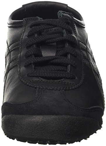 Mexico black Mixte 66 9090 Baskets Asics Tiger Adulte black Noir Onitsuka w8EgOg