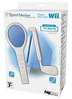 Nintendo Wii - Sports Pack 1 [Tennis-und Golfschläger-Aufsatz, Aufnahme für...