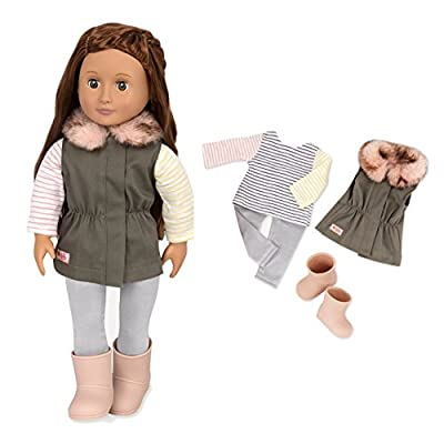 Our Generation BD30314 Fun Fur Fall Doll Clothes, Various: Toys & Games