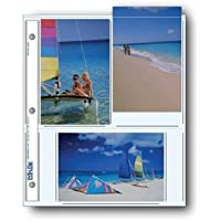 Printfile Archival Photo Album Pages for 6 4 x 6 Prints 100 Sheets - Printfile 466P100