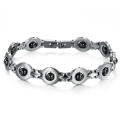 Alimab lovers L STAINLESS STEEL magnetic CZ.
