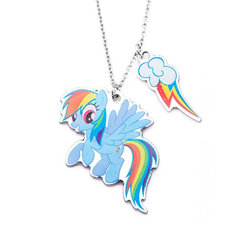 MY LITTLE PONY TWO PENDANT NECKLACE (RAINBOW DASH)