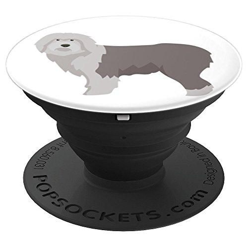 Old English Sheepdog Design - PopSockets Grip and Stand for Phones and Tablets