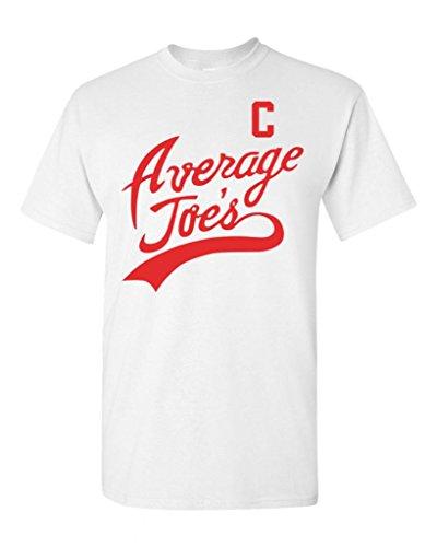 Average Joe's Movie Costume DT Adult T-Shirt Tee (XX Large, White) -