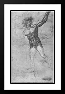 Amazon.com: Male nude, study for the Battle of Cascina ...