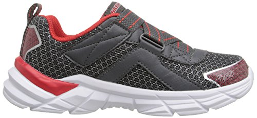Start Athletic Up Kid Big Red Skechers Little Sneaker Charcoal Kid Kids Rive HxqyUOE