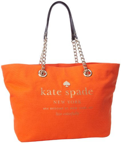 Kate Spade New York East Broadway Small Coal PXRU4158 Tote,Valencia,One Size, Bags Central