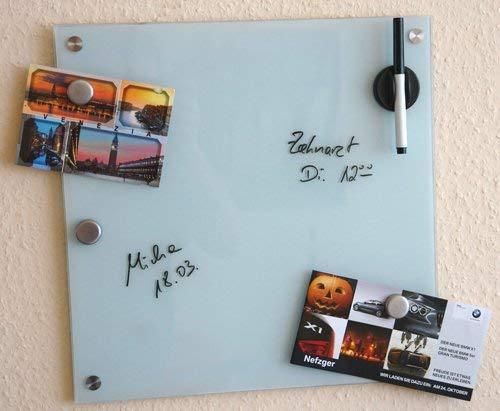 Zeller 11600 Tablero de Notas, Blanco, 40x40x3 cm: Amazon.es: Hogar