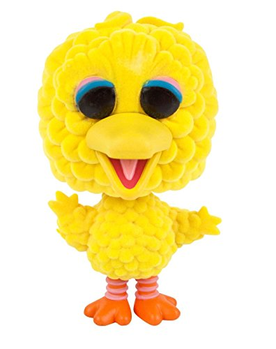 eet Big Bird Flocked Exclusive Oversize Vinyl Figure ()