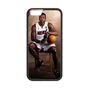 "FUNKYCAT Dwyane Tyrone Wade Custom Case Pattern Vintage Protector for iPhone6 4.7"" (Laser Technology)"