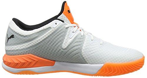 Homme 02 Multisport puma Chaussures 1 shocking quarry Orange Blanc Explode White Indoor Puma qZXana