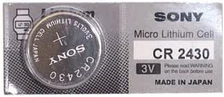 Micro CR2430 Lithium Button Coin Cell for Watches, Calculators and Electronic Devices