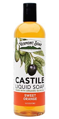 - Vermont Soap Liquid Castile Soap (Sweet Orange, 16oz)