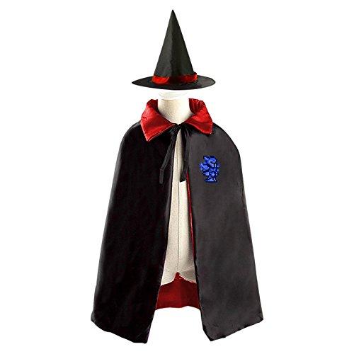 Blue Robot Children's Halloween cape Including (All Halloween Costumes Terraria)