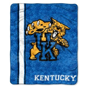 The Northwest Company Officially Licensed NCAA Kentucky Wilcats Jersey Sherpa on Sherpa Throw Blanket, 50