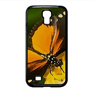 Tiger Longwing Butterfly Watercolor style Cover Samsung Galaxy S4 I9500 Case (Insects Watercolor style Cover Samsung Galaxy S4 I9500 Case)