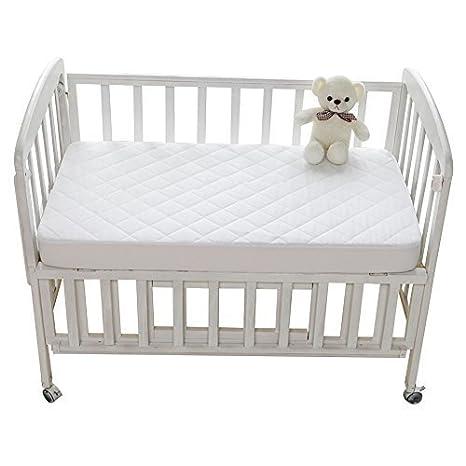 Protector Cuna Cubrecolchón Impermeable de Cama Bebé, Colcha de Bebé Impermeable 50x90cm de YOOFOSS (50x90cm): Amazon.es: Bebé