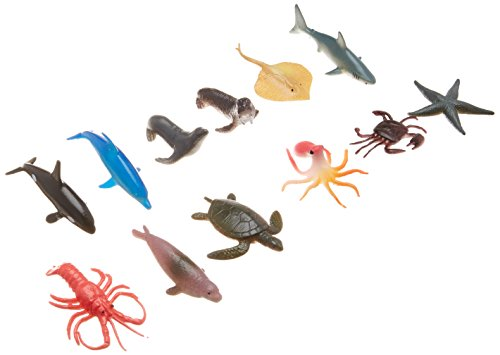 Costumes Shark Land (Fun-Filled Mini Sea Animals Party Favours, Plastic, 2