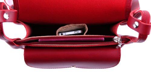 Ruiter, Borsa a tracolla donna Rosso rosso