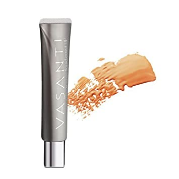 Oil-Free Foundation Concealer in 1 V4 by VASANTI – Liquid Cover-Up – Get Incredible Coverage with Featherlight Finish Now