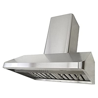KOBE Range Hoods Contemporary Wall Mount Range Hood