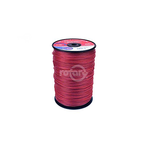 Rotary Trimmer Line .095 5# Spool Red Commerica