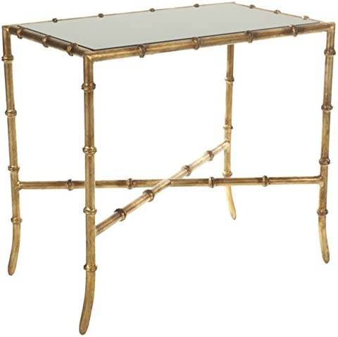 Safavieh Home Collection Margaret Brass and Iron End Table