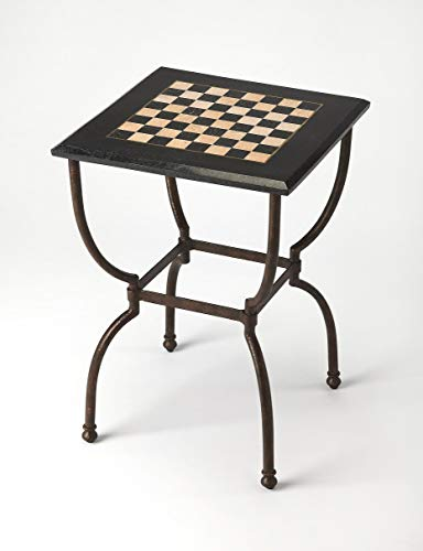 BUTLER 6061025 FRANKIE FOSSIL STONE GAME TABLE